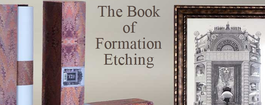 The Book of Formation Etching 1859 - Reproduction 100cm x 70cm, Including English or Hebrew CD. Packaged in a Box