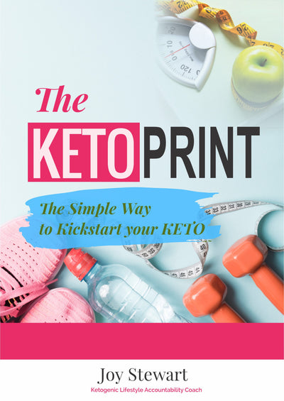 THE KETO PRINT: The Simple Way To Kickstart Your KETO!  EBOOK