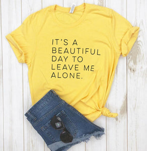 Women Leave Me Alone Tee