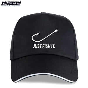Men Just Fish It Caps