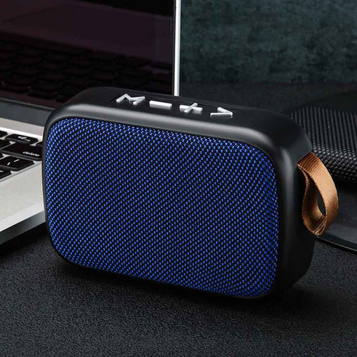 Bluetooth Speaker Tablet Home Outdoor TF Card Surround FM Wireless Rechargeable Mini Portable Stereo Sound Laptop Loudspeaker