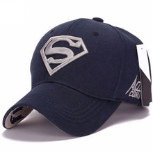 Load image into Gallery viewer, Fashion Men Women Unisex Snapback Adjustable Fit Baseball Cap Superman Hip-hop Stretch Embroidery Hat 8 Colors