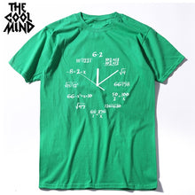 Load image into Gallery viewer, Men MATH Clock Tee