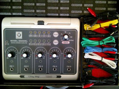 5 Port Electroacupuncture Machine