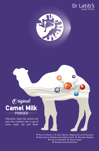 Camel Milk Powder - 25g Sachet