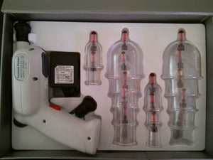 Electric gun vacuum cupping set