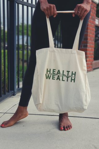 Health is Wealth Tote