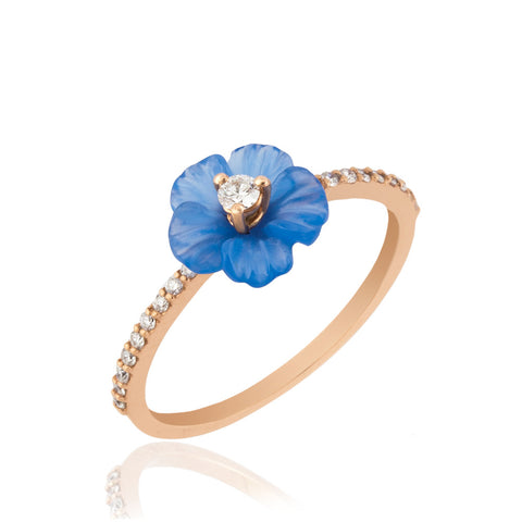 Verbena Rose Ring