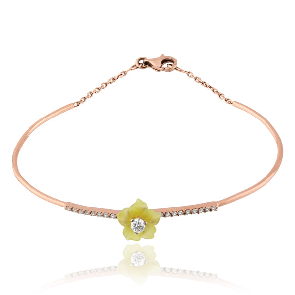 Serpentine Bloom Bracelet