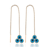 Tres Ojos Earrings
