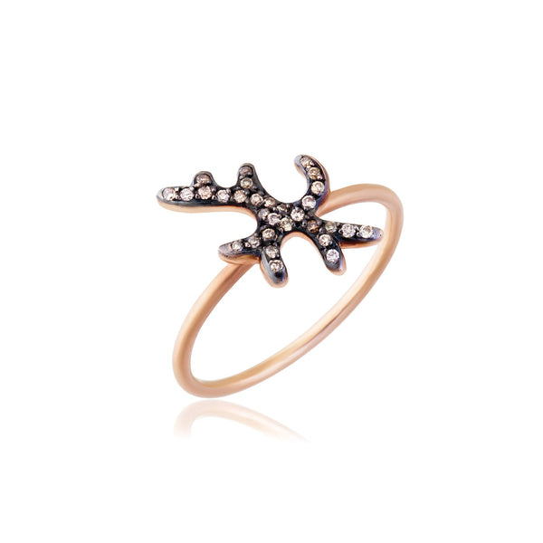 Chryses Champagne Ring