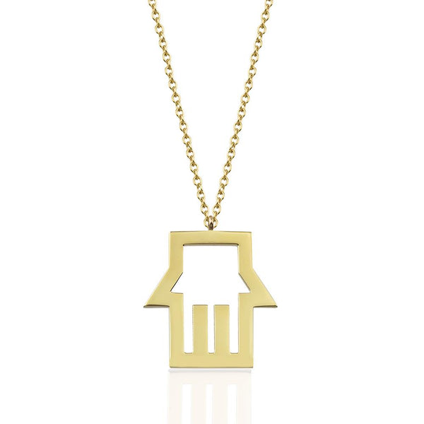 Fortuna Gold Necklace