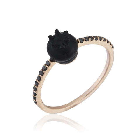 Black Fortune Ring