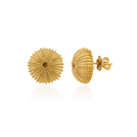Mini Urchinia Gold Earrings