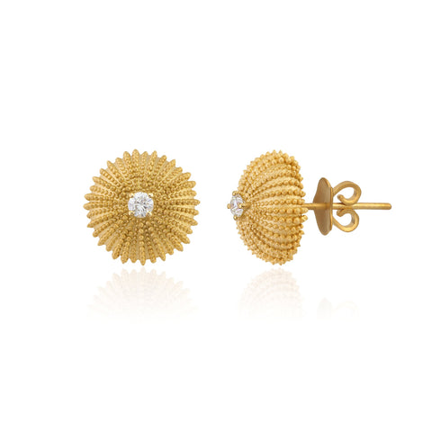 Mini Urchinia Gold Rush Earrings