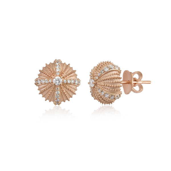 Mini Urchinia Rose Diadem Earrings