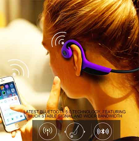 Bluetooth Bone Conduction Headphones