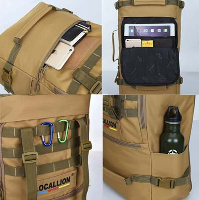millitary-grage tactical backpack 50L