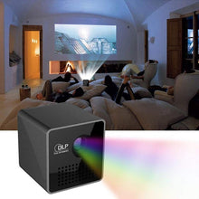 Load image into Gallery viewer, Portable DLP Mini Projector 1080P HD WIFI