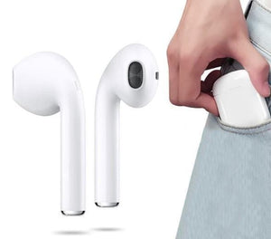 Earbuds with Charging Case for iOS & Android