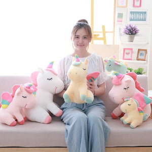 Rainbow Wings Unicorn Plush Toys