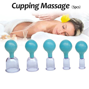 Vacuum Cupping Massage Therapy Suction Cup Set