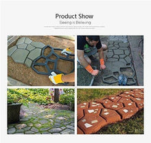 Load image into Gallery viewer, Reusable Path Floor Mould DIY Path Maker Garden Lawn Paving Concrete Mold