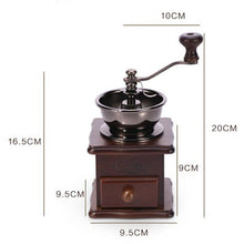 Load image into Gallery viewer, Vintage Style Manual Home Coffee Grinder