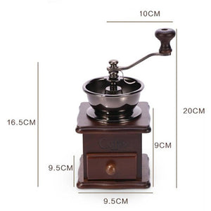Vintage Style Manual Home Coffee Grinder