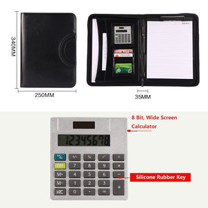 High Quality PU Leather Business Folio Case