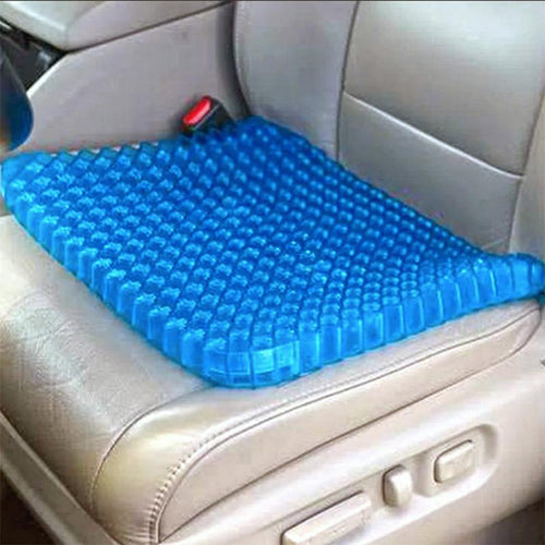 Honeycomb Cooling Gel Support Seat Cushion - Ergonomic & Orthopaedic Designed