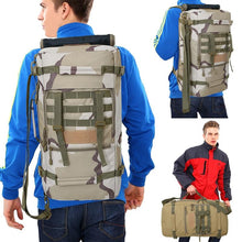 Load image into Gallery viewer, Tactical Travel & Hiking Backpack 50L