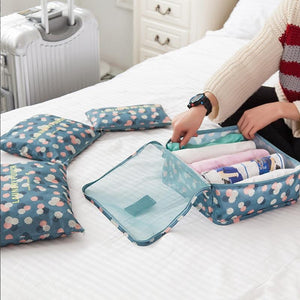 Lightweight Waterproof Packing Cubes Travel Organiser