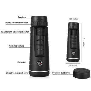 40X Zoom Telescope Camera Lens For Smartphone