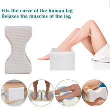 Load image into Gallery viewer, Memory Foam Knee Pillow For Side Sleepers