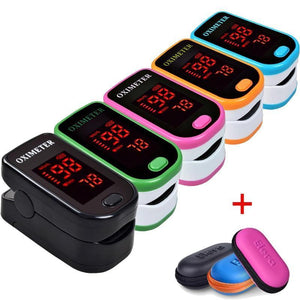 Finger Pulse Oximeter - SpO2 Monitor