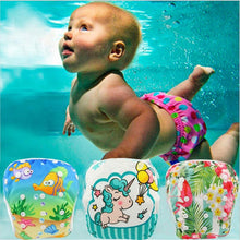 Load image into Gallery viewer, Reusable Baby Swim Diapers