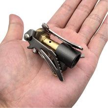 Load image into Gallery viewer, Portable Outdoor Foldable Camping Mini Stove Gas Burner