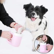 Load image into Gallery viewer, Portable Paw Plunger for Dogs and Cats - Pet Paw Washer