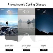 Load image into Gallery viewer, Photochromic Anti-Glare Cycling Glasses