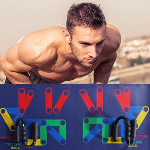 9-in-1 Push-Up Rack Board Fitness System