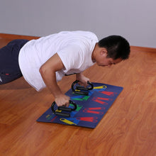 Load image into Gallery viewer, 9-in-1 Push-Up Rack Board Fitness System