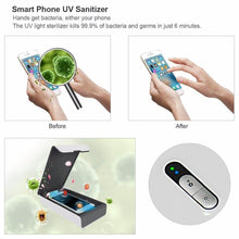 Load image into Gallery viewer, Portable Smart Phone UV Sanitizer With Aromatherapy Function for iOS & Android Phones