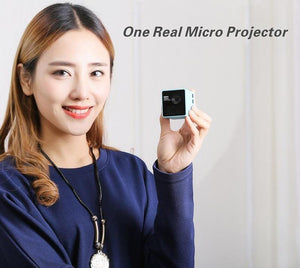 Portable DLP Mini Projector 1080P HD WIFI