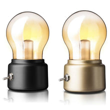Load image into Gallery viewer, Vintage USB Night Light Edison Bulb