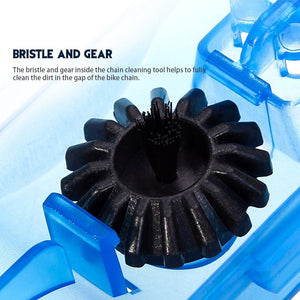 Portable Bicycle Chain Cleaner and Bike Brush