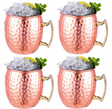 Load image into Gallery viewer, Moscow Mule Mugs - Set of 4
