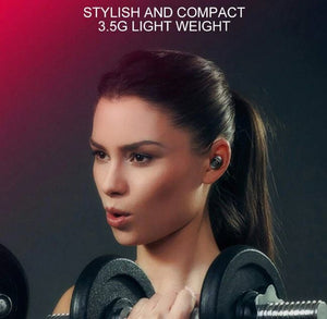 In HIFI Sport True Ear Mini Bluetooth Wireless Earbuds