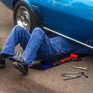 Wheel-less Mechanic's Under Car Creeper - Automotive Rolling Pad