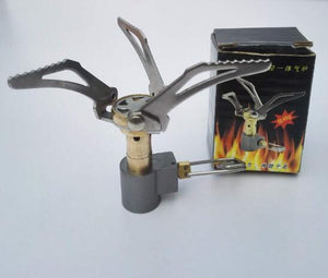 Portable Outdoor Foldable Camping Mini Stove Gas Burner